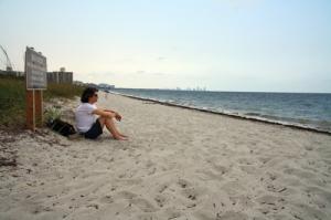 Beach on Key Biscayne