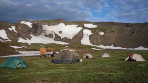 Camp in Kamchatka
