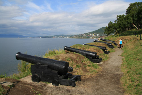 Cannons used in war against France