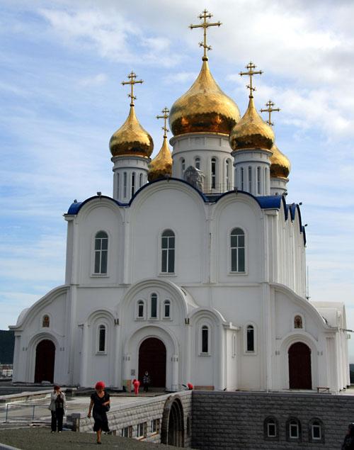 Petropavlovsk's Russian Orthodox Church