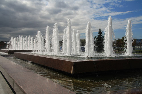 The Fountains in Victory Park