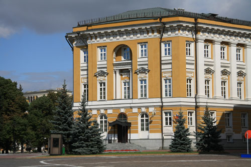 Government offices (where the President of the Russian Federation, Mr. Medvedev goes to work)