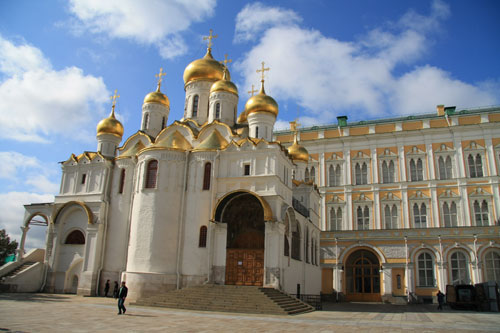 Cathedral of the Annunciation in Kremlin Palace