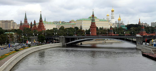 A view of the Kremlin