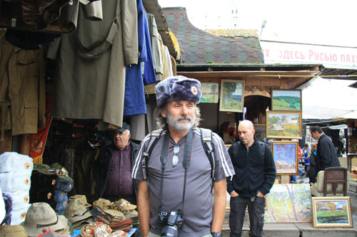Roger's fabulous flea market find!