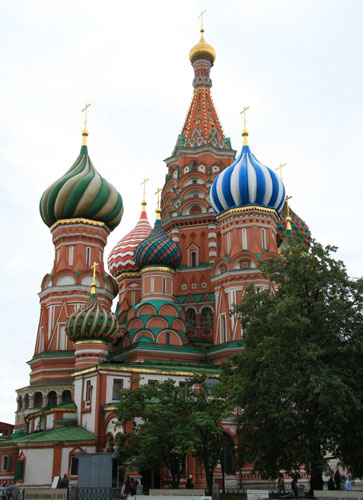 St. Basils Cathedral in Moscow