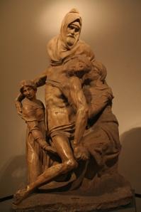 Michelangelo's Pieta in Florence