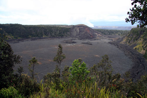 Hike into a Crater