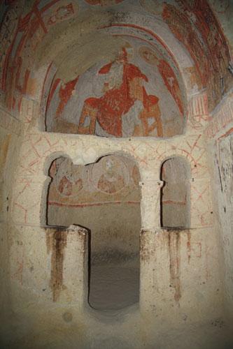 Frescoes in Goreme Open Air Museum
