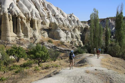 Hiking in the Valleys of Cappadocia
