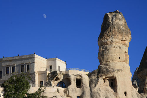 """Our """"cave hotel"""" in Goreme"""