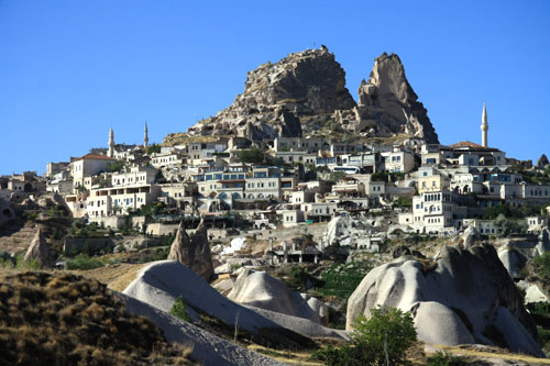 The town of Uchisar