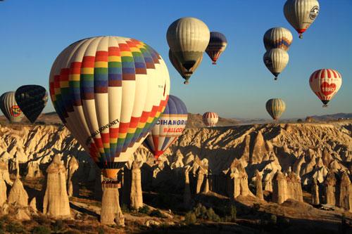 "Cappadocia's ""Valley of Love"""
