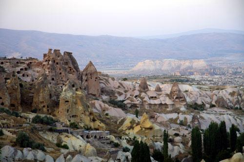Troglodyte homes in Cappadocia