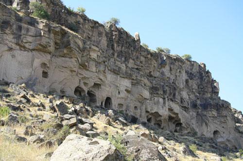Dwellings in Ihlara Valley