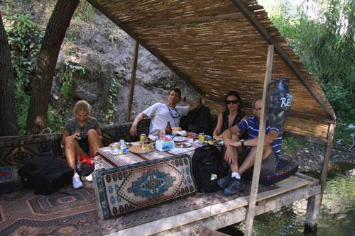Lunch after Ihlara Valley tour