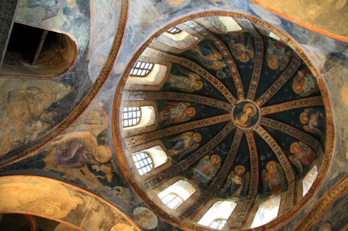 Interior of Chora Church