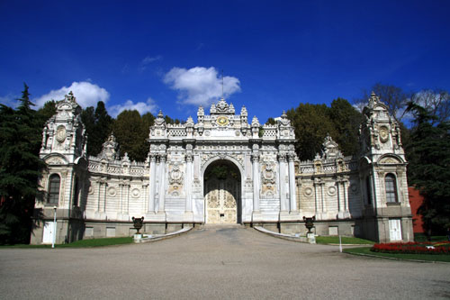 Gate at Dolmabahce Palace