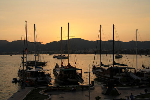 Marmaris, Turkey sunset