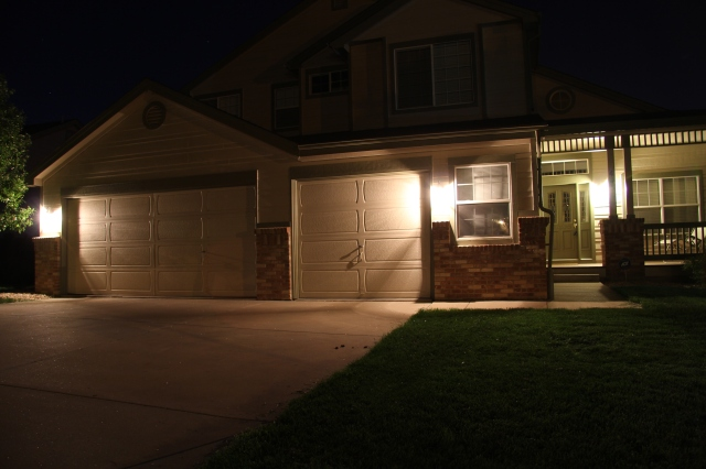 Denver home with normal light bulbs installed