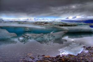 Iceberg-Choked Bay of Jokulsarlon